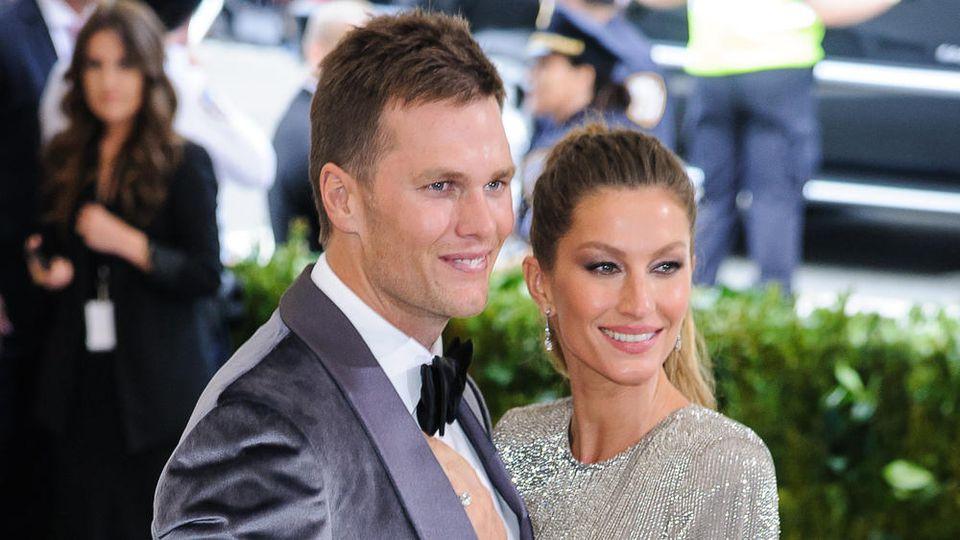 Verheiratet seit zehn Jahren: Tom Brady und Gisele Bündchen