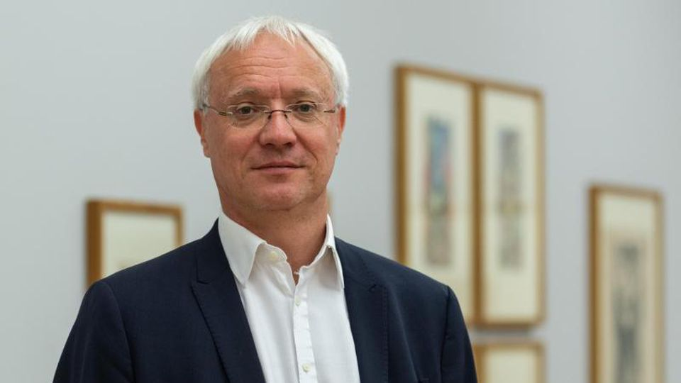 Gisbert Porstmann, Direktor der Städtischen Galerie. Foto: Robert Michael/dpa-Zentralbild/dpa/Archivbild
