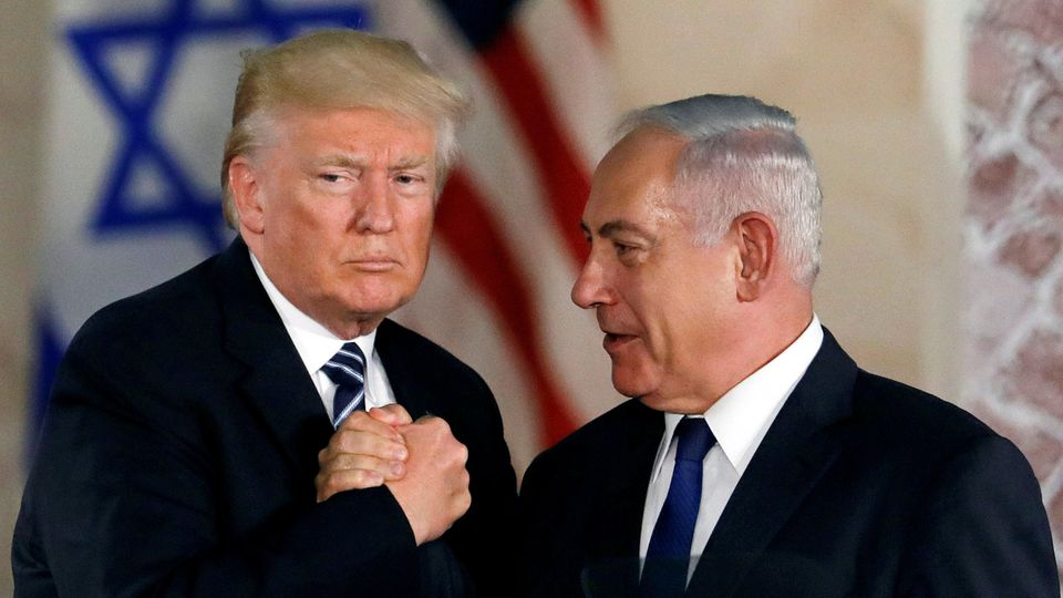U.S. President Donald Trump und Israels Ministerpräsident Benjamin Netanjahu