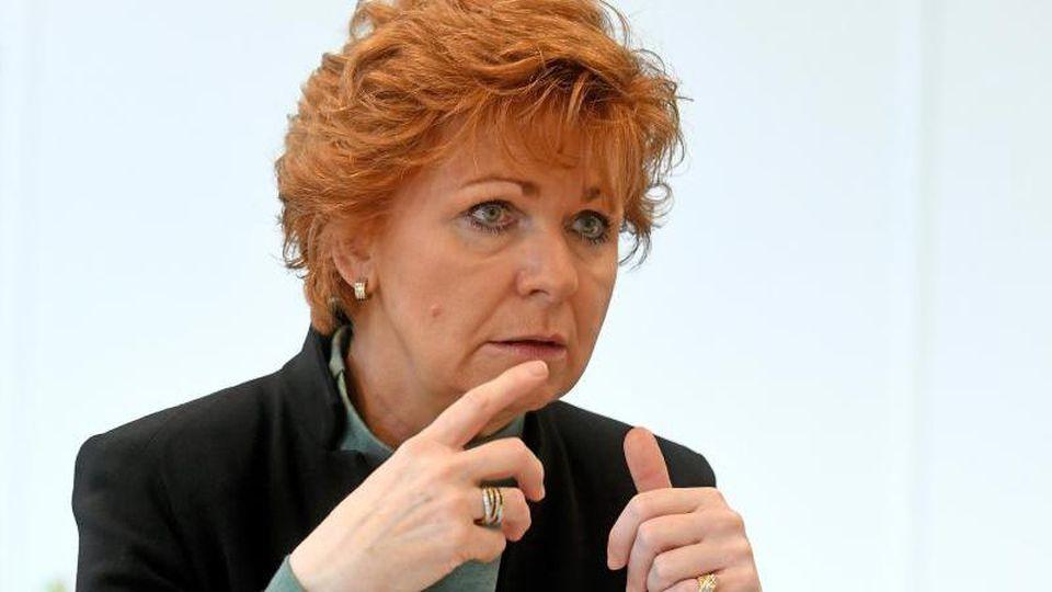 Barbara Havliza (CDU), Justizministerin von Niedersachsen, aufgenommen während eines dpa-Gespräches. Foto: Holger Hollemann/Archiv