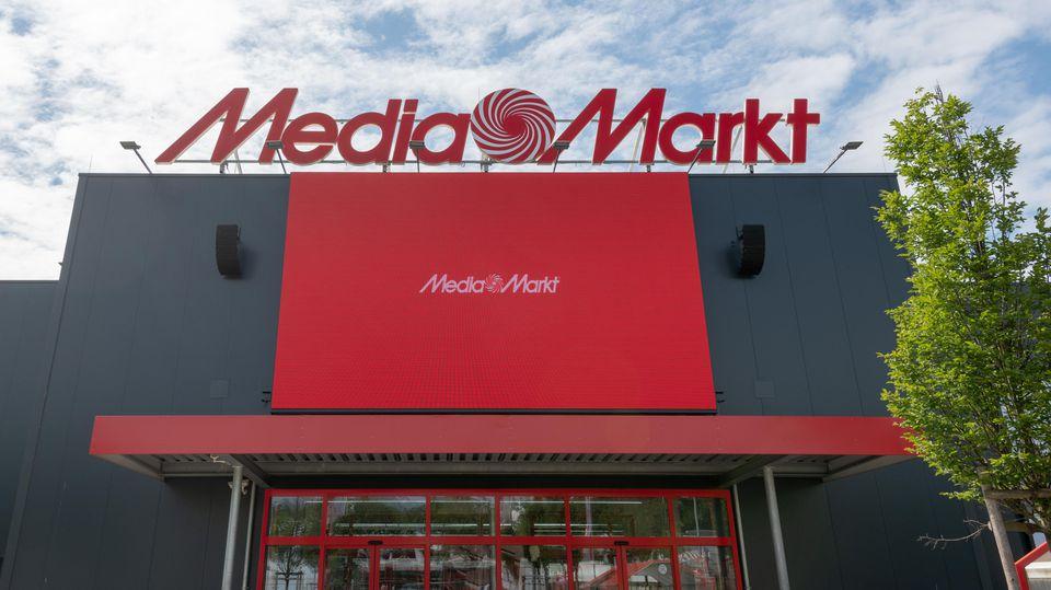 "Markt der Elektronikkette ""Media Markt"" in Ingolstadt."