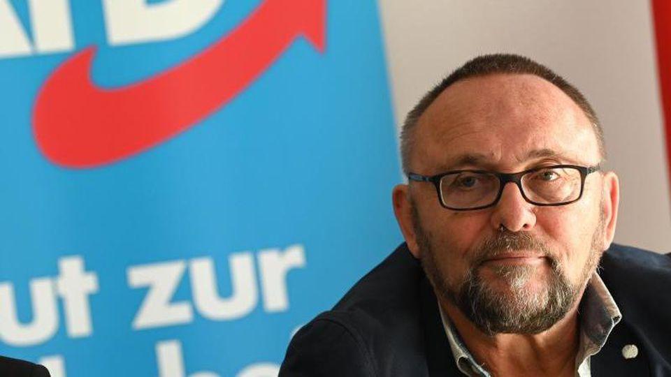 Frank Magnitz, Ex-Landeschef der AfD in Bremen. Foto: Carmen Jaspersen/dpa/Archivbild
