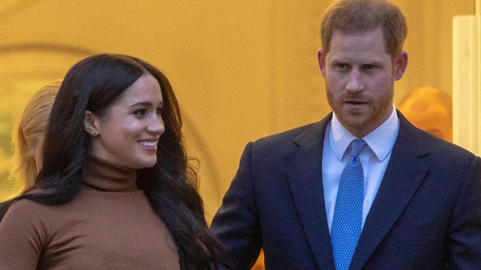 Ab April arbeiten Harry und Meghan nicht mehr für die Royals.