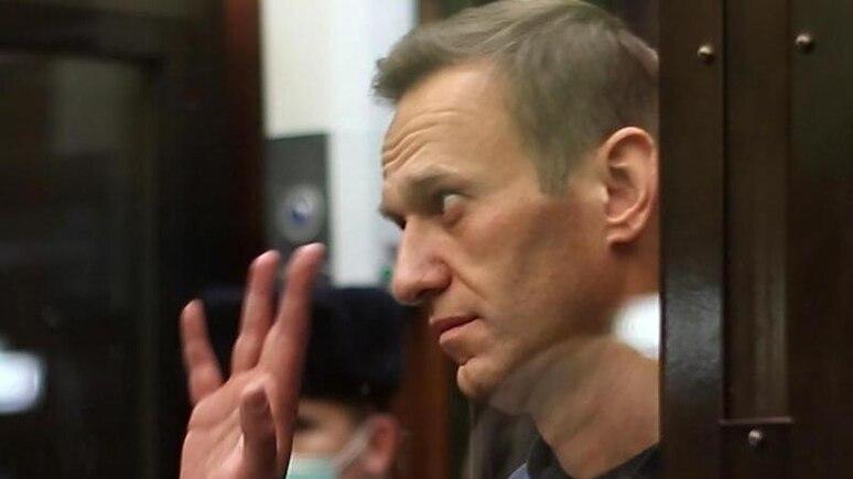 Der russische Oppositionsführer Alexej Nawalny wurde zu mehreren Jahren Straflager verurteilt. Foto: Moscow City Court Press Office/TASS/dpa
