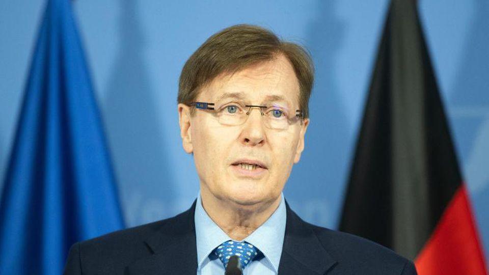 Peter Biesenbach (CDU), Justizminister von Nordrhein-Westfalen. Foto: Federico Gambarini/dpa
