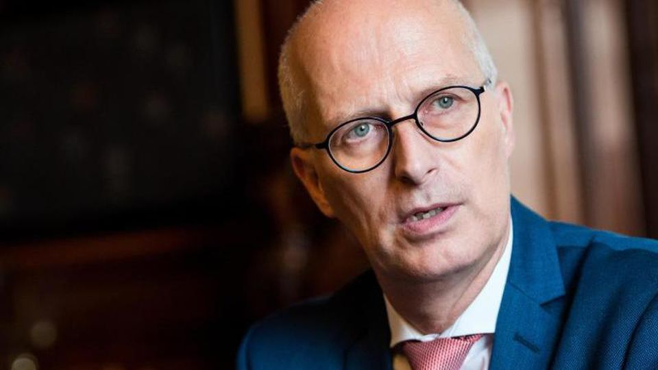 Hamburgs Erster Bürgermeister Peter Tschentscher (SPD). Foto:Daniel Bockwoldt/Archivbild