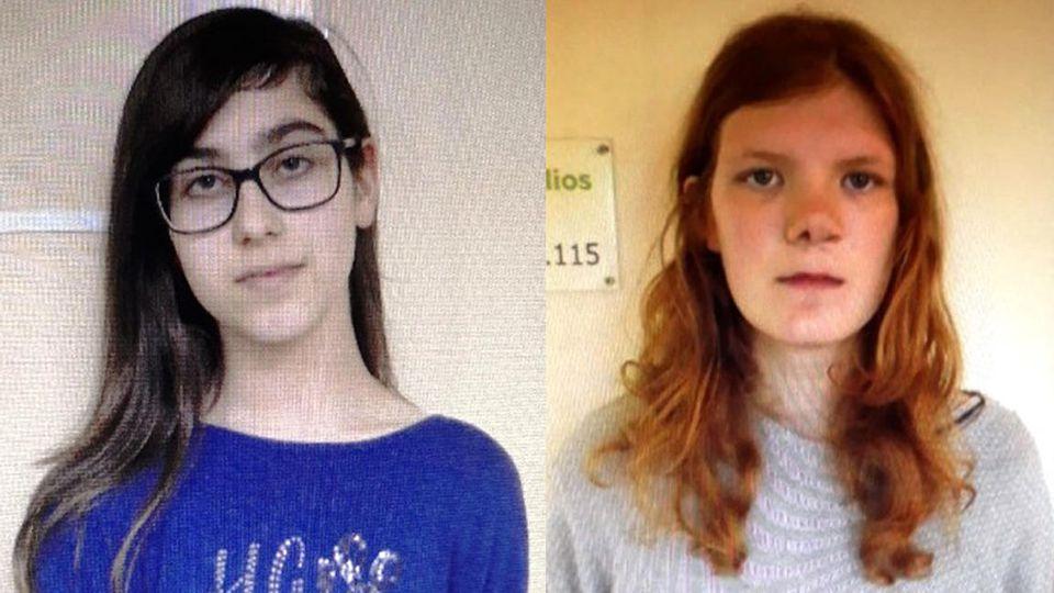 Polizei Schwerin fahndet nach zwei aus einer Klinik geflüchteten Mädchen.
