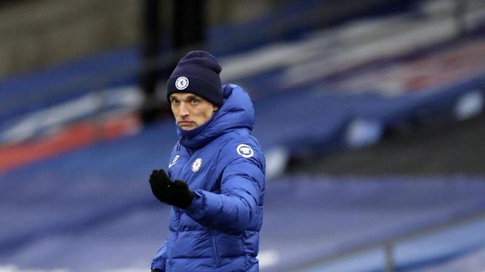 Hat nach dem 2:0 im Hinspiel guten Aussichten mit dem FC Chelsea gegen Porto das Halbfinale zu erreichen: Trainer Thomas Tuchel. Foto: Peter Cziborra/POOL Reuters/AP/dpa