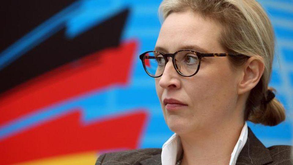 AfD-Politikerin Alice Weidel. Foto: Wolfgang Kumm/Archiv