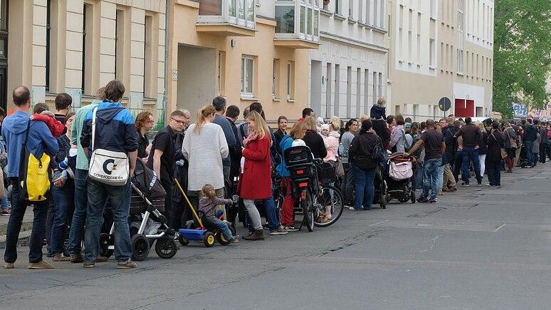 Extremfall Leipzig: Der Andrang auf die wenigen Kita-Plätze ist groß