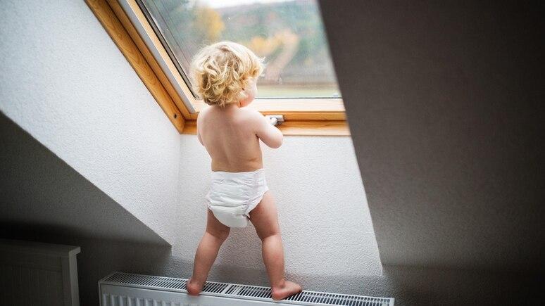 Ein Kind ist in Wien verunglückt, nachdem es aus einem Fenster gefallen war. (Foto: Symbolbild)