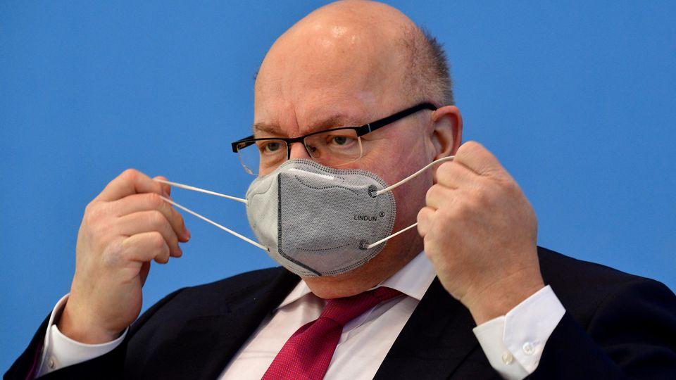 Bundespressekonferenz: Peter Altmaier (CDU), Bundesminister für Wirtschaft