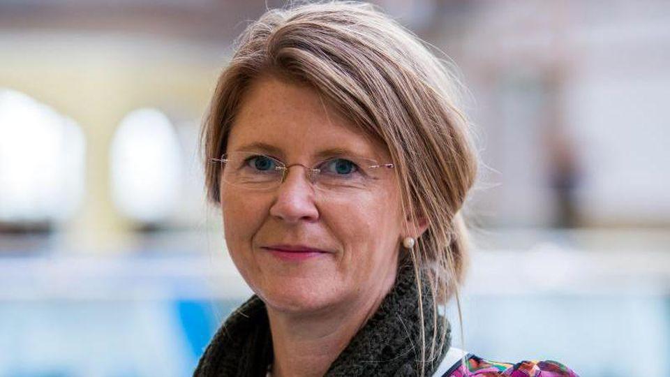 Katy Hoffmeister (CDU) ist zu sehen. Foto: Jens Büttner/Archiv