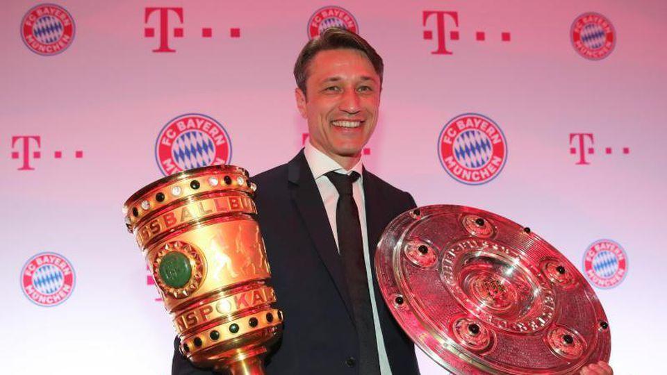 Bayern-Trainer Niko Kovac erhält von Hoeneß eine Jobgarantie. Foto: Alexander Hassenstein/Bongarts/Getty Images/ Pool