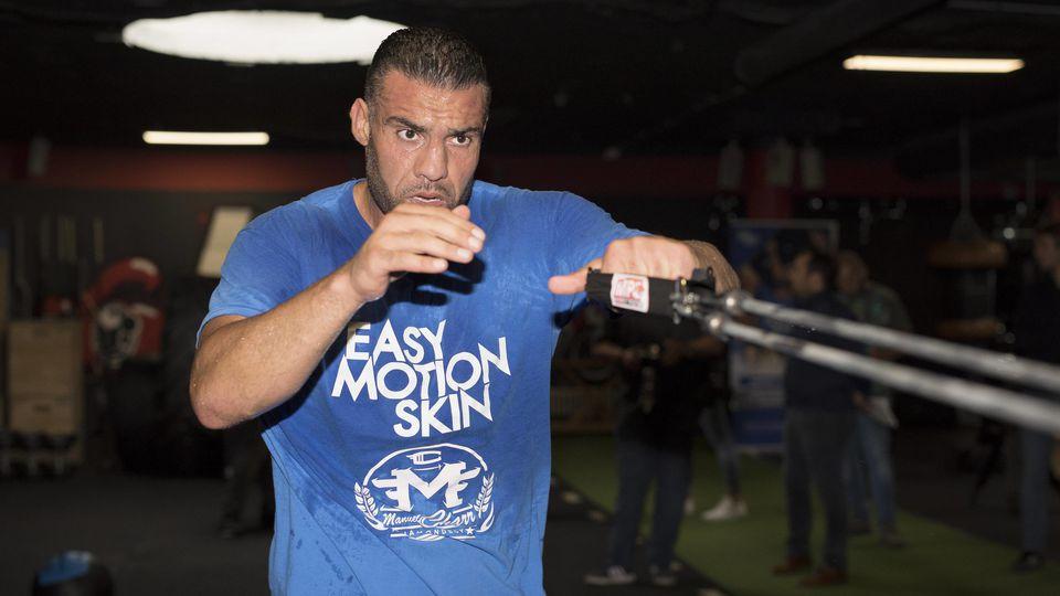 Zurück ins Gym: Mahmoud Charr muss weiter auf seinen nächsten Profikampf warten.