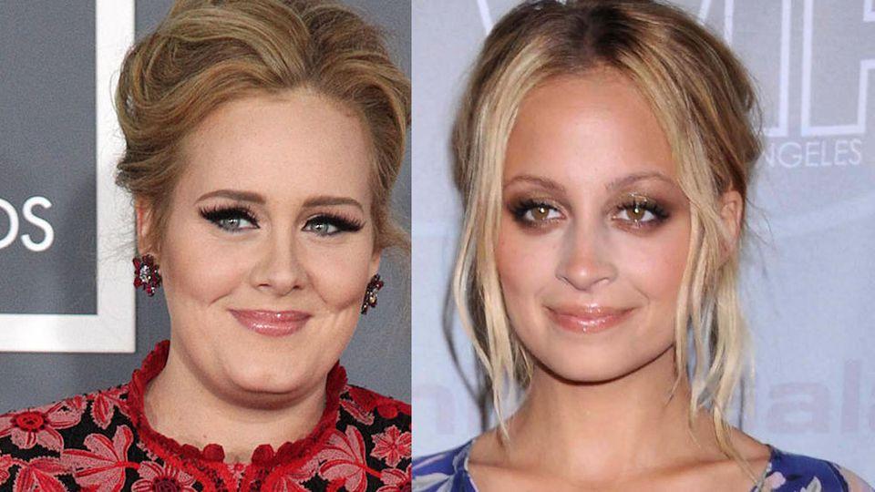 Adele (li.) und Nicole Richie sind beste Freundinnen.