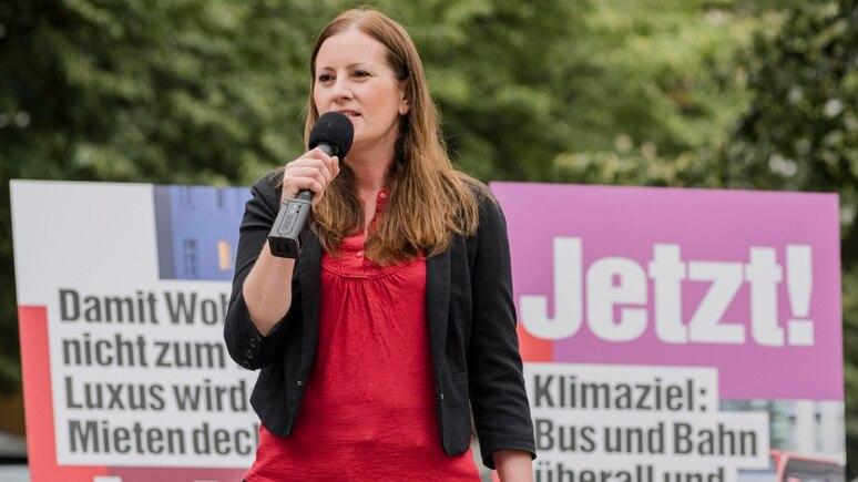 Nach der Flutkatastrophe fordert Janine Wissler politische Konsequenzen