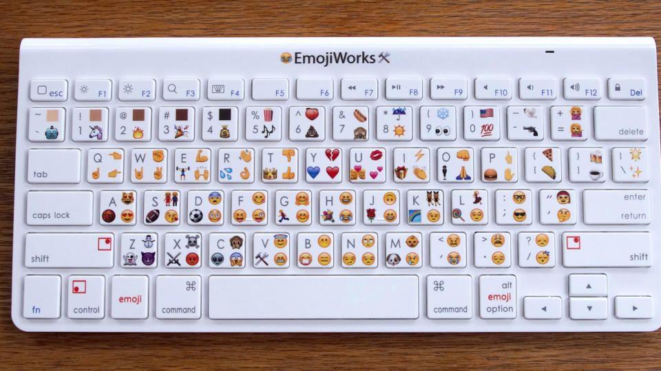 Smileys mit tastatur machen