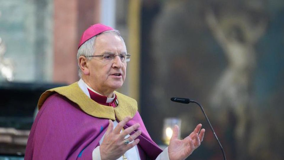 Heinrich Timmerevers, Bischof des Bistums Dresden-Meißen. Foto: Sebastian Kahnert/dpa-Zentralbild/dpa/Archiv