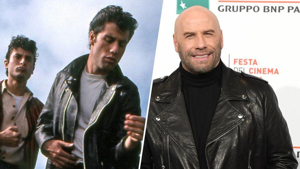 "John Travolta rockt den ""Grease""-Look"