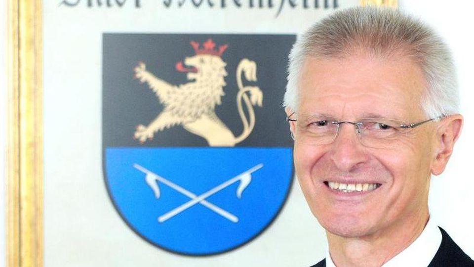 Der SPD-Kommunalpolitiker Dieter Gummer steht seit 2004 an der Rathausspitze in Hockenheim. Foto: Dany Schleicher/Stadtverwaltung Hockenheim