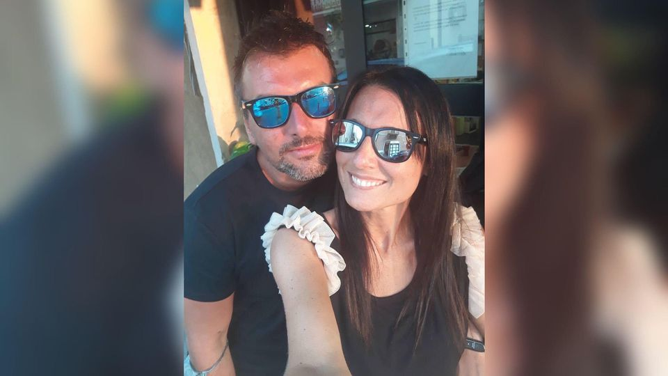 """Paola Agnelli (40) und Michele D'Alpaos (38) sind """"Italiens Romeo und Julia der Neuzeit""""."""