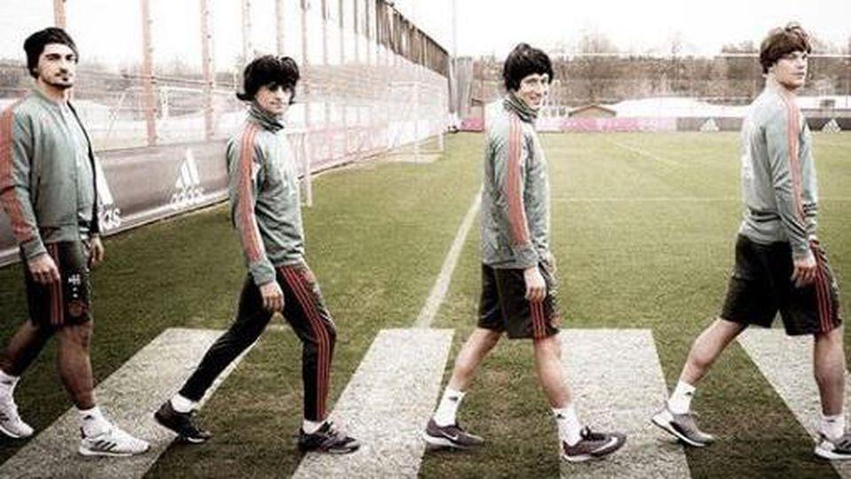 """Die Bayern als """"The Beatles"""""""