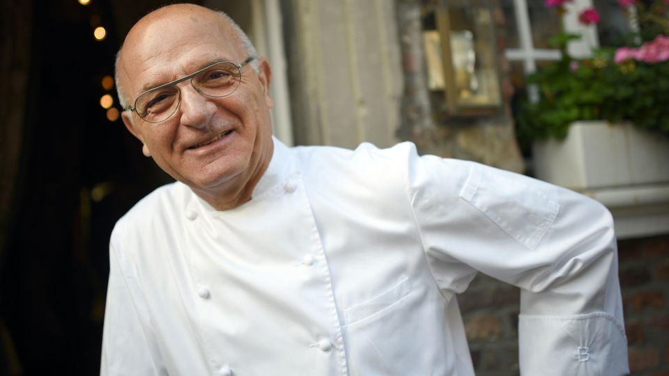 Der Koch Jean-Claude Bourgueil