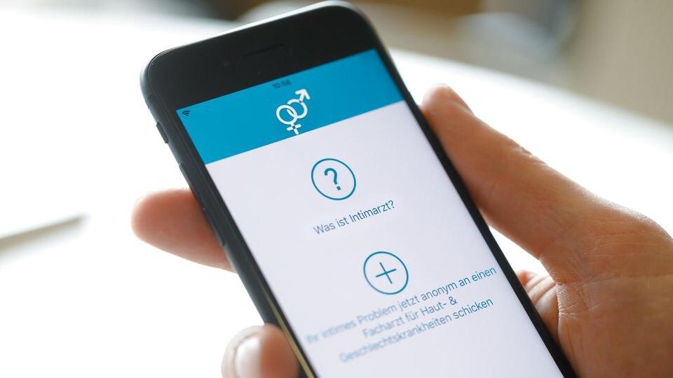 """Mit der """"Intimarzt""""-App sollen Geschlechtskrankheiten schneller erkannt und besser behandelt werden können."""