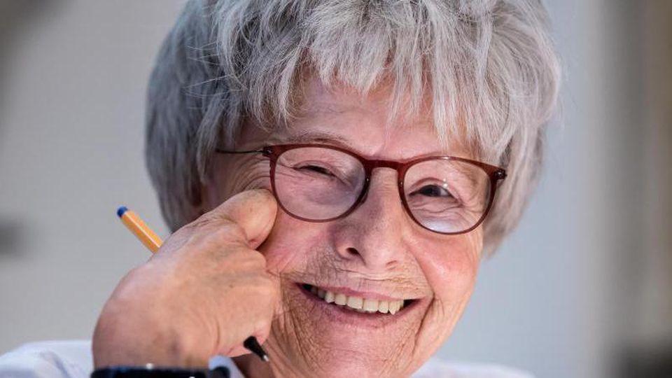Die Autorin Mirjam Pressler ist im Alter von 78 Jahren in Landshut gestorben. Foto: Sven Hoppe/Archiv