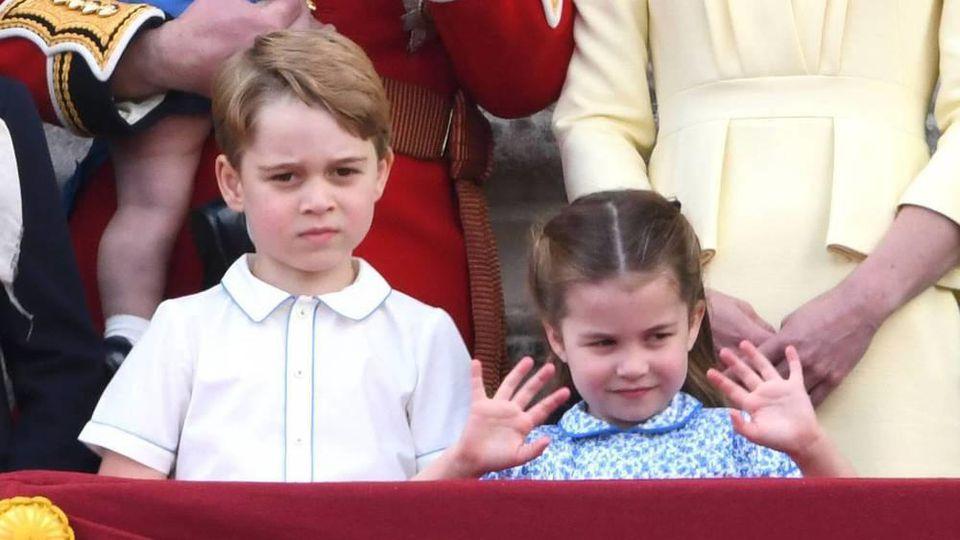 Beherrschen bereits den öffentlichen Auftritt: Prinz George und Prinzessin Charlotte