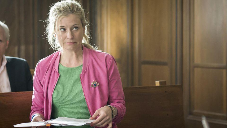 "Birte Hanusrichter spielt die Jenny Kramer in ""Jenny echt gerecht""."