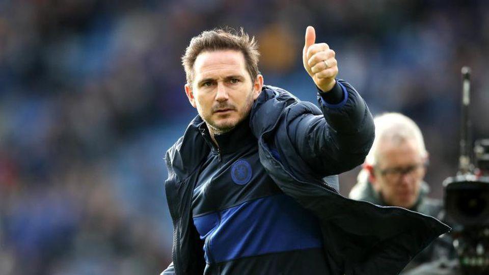 Frank Lampard aus Deutschland, Trainer von FC Chelsea. Foto: Nick Potts/PA Wire/dpa/Archivbild