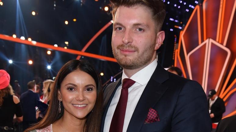 Ex-Bachelor-Babe und IBES-Teilnehmerin Kattia Vides und ihr Verlobter, CDU-Politiker Patrick Weilbach.