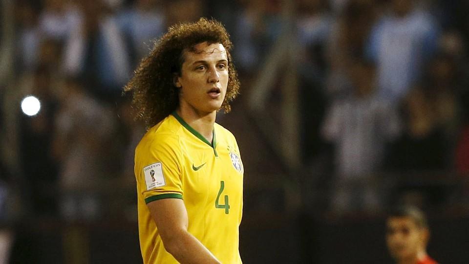 David Luiz spielte kurz nach den Terroranschlägen in Paris mit Brasilien gegen Argentinien.