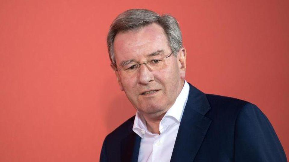 Der ehemalige Bayern-Präsident Karl Hopfner. Foto: Sven Hoppe/dpa/Archivbild