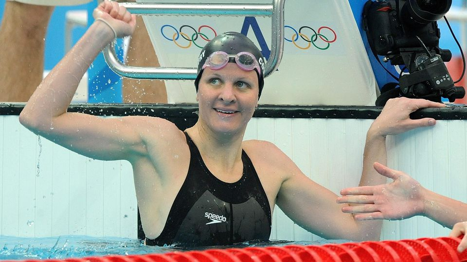 Olympiaschwimmerin Kirsty Coventry