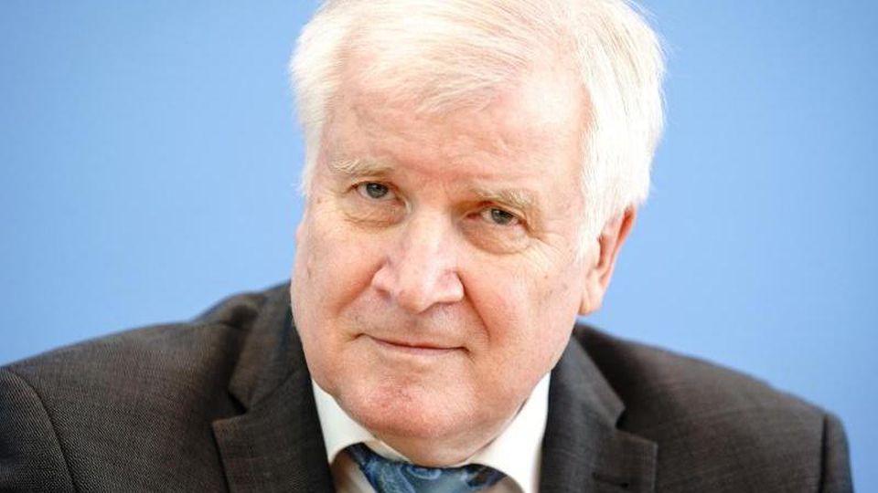 Horst Seehofer (CSU), Bundesminister des Innern, für Bau und Heimat. Foto: Kay Nietfeld/dpa/Archivbild