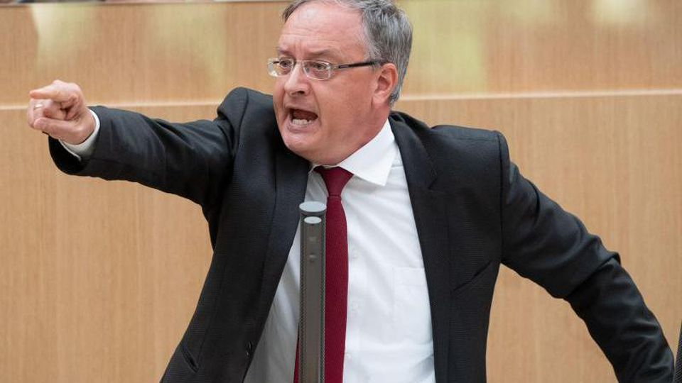 Andreas Stoch (SPD) spricht im Landtag von Baden-Württemberg. Foto: Marijan Murat/dpa/Archivbild