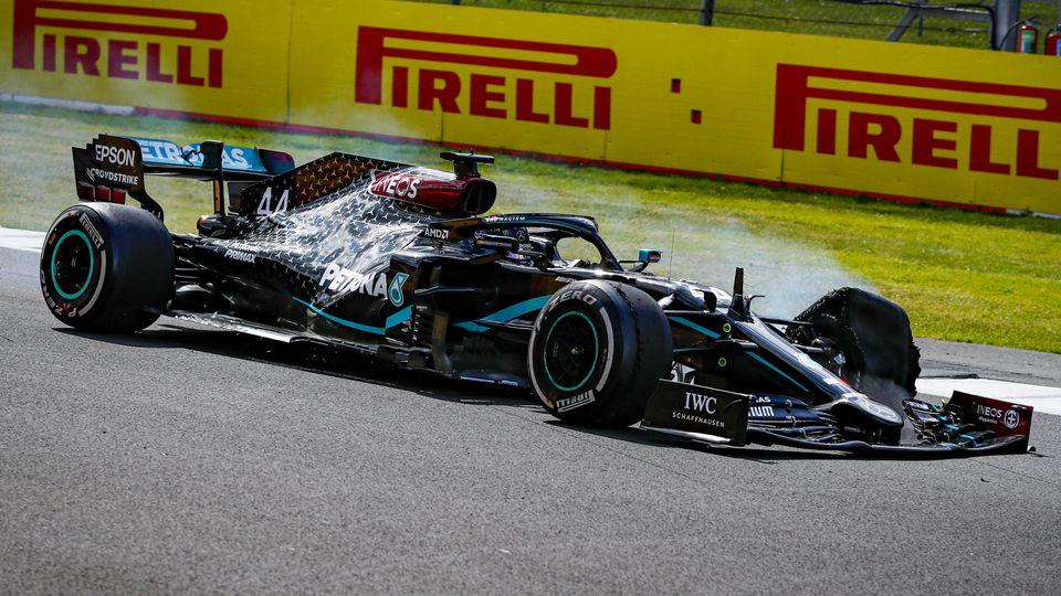 Lewis Hamilton beim Großbritannien-GP