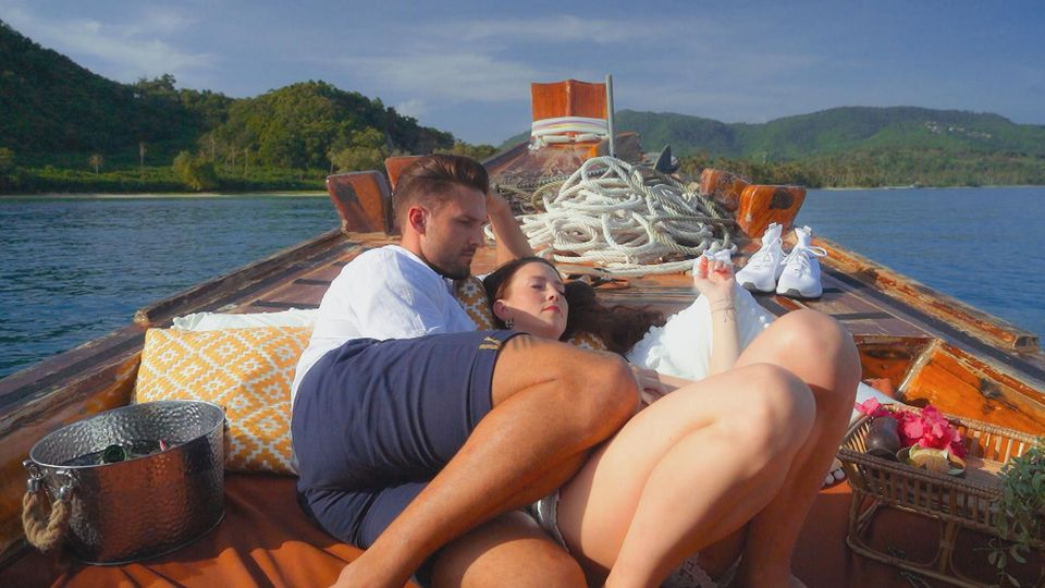"Marco und Christina bei ihrem ""Bachelor in Paradise""-Date."