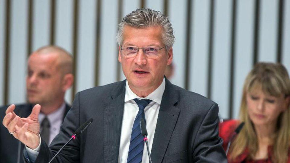 Wolfgang Waldmüller ist bei der Landtagssitzung in Schwerin zu sehen. Foto: Jens Büttner/dpa-Zentralbild/dpa