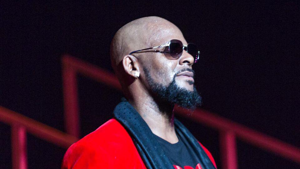 R. Kelly während eines Konzerts in Atlanta