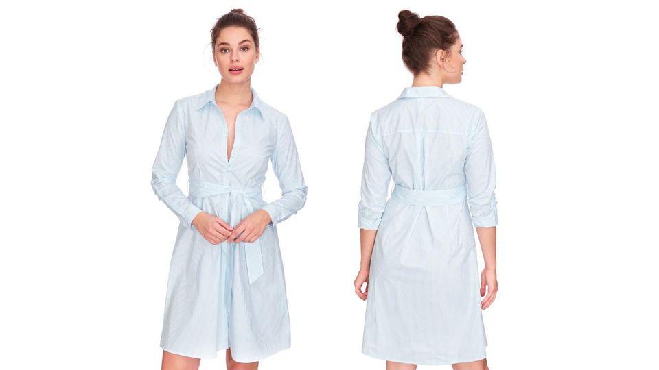 Hemdkleider sind vielseitig einsetzbar und wie gemacht für Frühling und Sommer