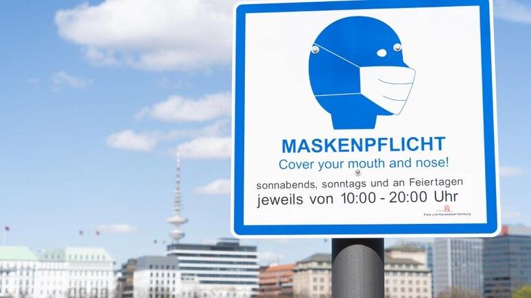 Hamburg: Maskenpflicht im Freien ist aufgehoben