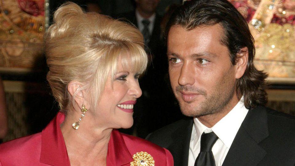 Ivana Trump und Rossano Rubicondi bei einem Auftritt in New York