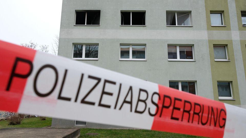 Zwei Tote nach Wohnungsbrand in Grimma