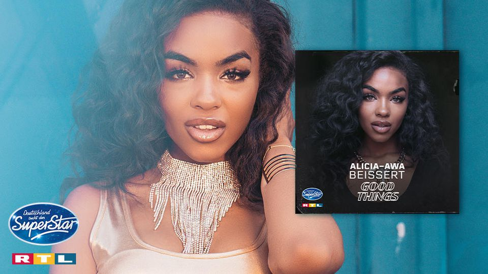 "Alicia-Awa singt im DSDS-Finale ihre eigene Single ""Good Things""."