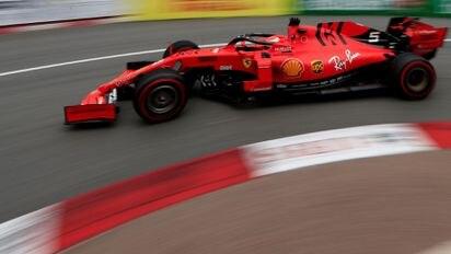Formel 1 in Monaco: Mercedes fährt Ferrari in 2  Freien