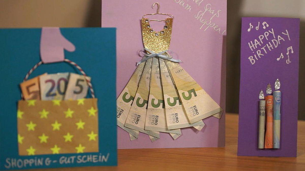 Geldgeschenke Basteln Kreativ Und Einfach Nachzumachen